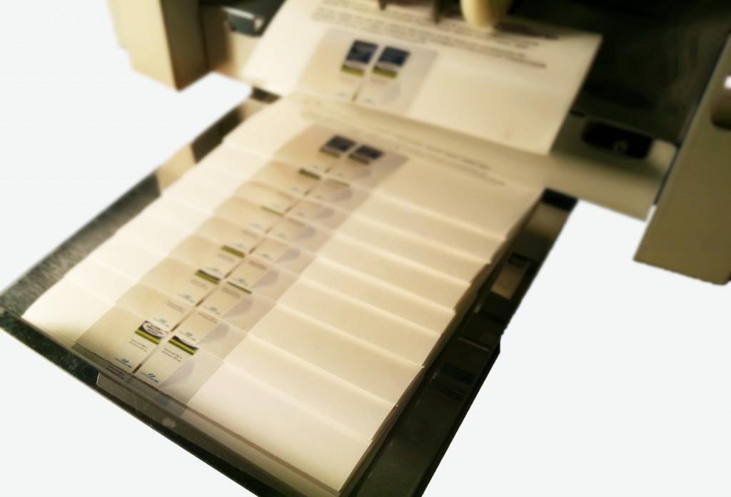 Machine folding copy